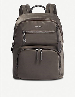 TUMI: Hartford satin backpack