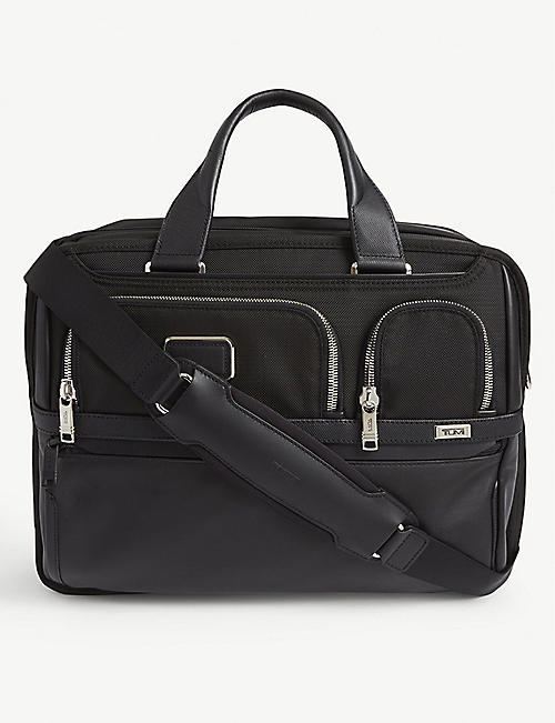 TUMI: Alpha 3 expandable laptop briefcase
