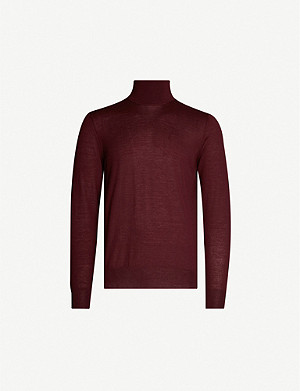 PAL ZILERI Turtleneck cashmere jumper