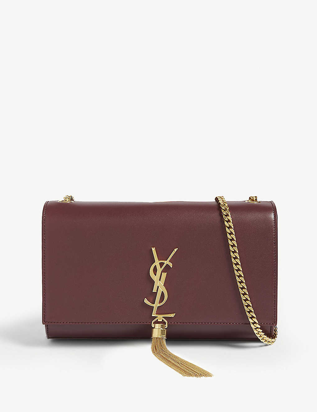 SAINT LAURENT: Kate tassel medium leather shoulder bag