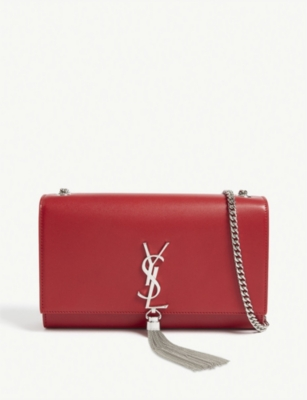 SAINT LAURENT Kate tassel wallet on chain