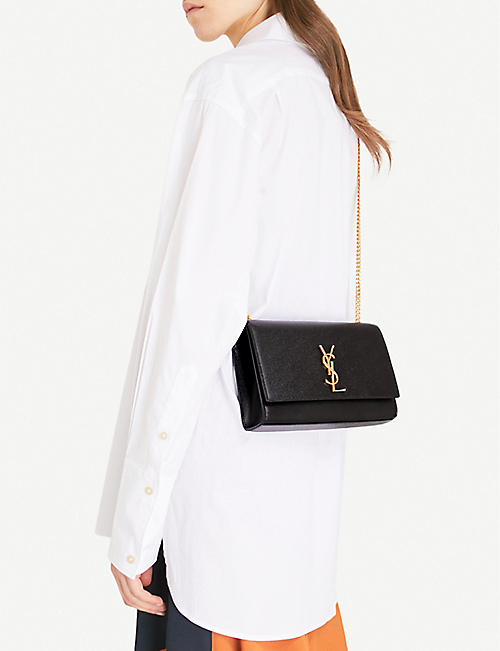 SAINT LAURENT Monogram medium leather shoulder bag