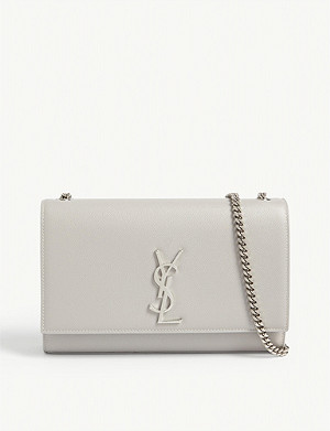 SAINT LAURENT Kate monogram small leather satchel