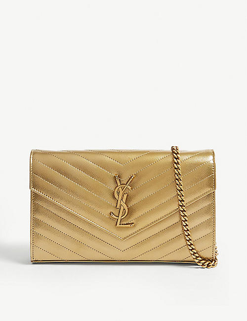 451071cc7b6 Designer Clutch Bags - Saint Laurent & more | Selfridges