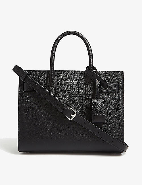SAINT LAURENT: Sac de Jour mini leather tote