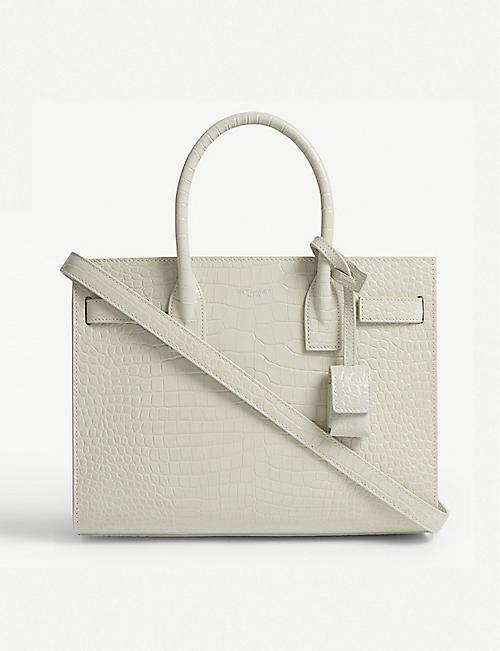 3cdf712b47 SAINT LAURENT Sac de Jour faux-leather tote bag