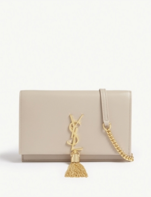 SAINT LAURENT Kate leather wallet-on-chain