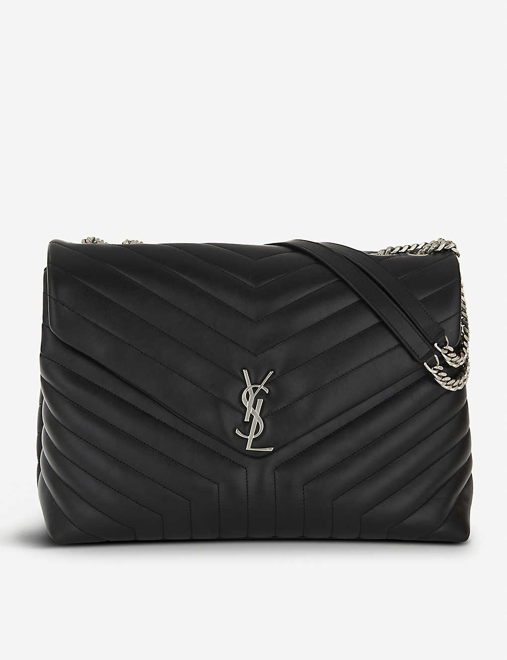 576091900d SAINT LAURENT - Loulou Monogram extra-large quilted leather shoulder ...