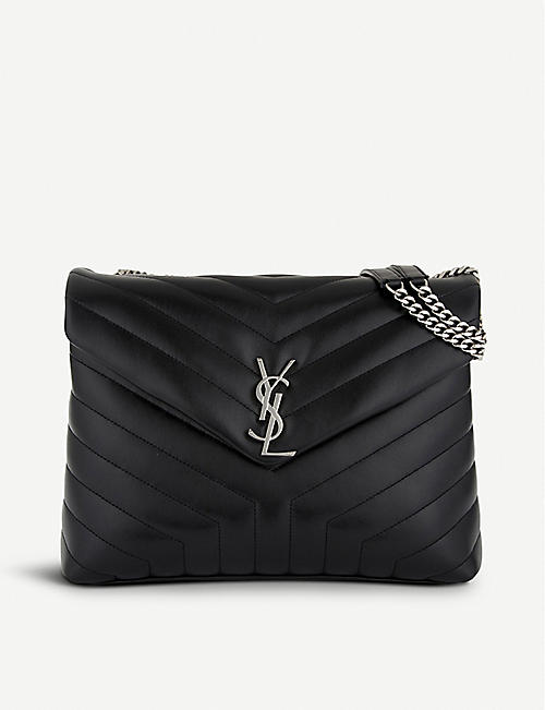 SAINT LAURENT Loulou Monogram medium quilted leather shoulder bag