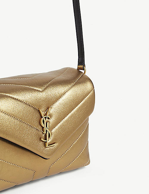 SAINT LAURENT Lou Lou quilted leather shoulder bag