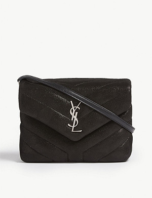 SAINT LAURENT Toy Lou Lou quilted leather shoulder bag