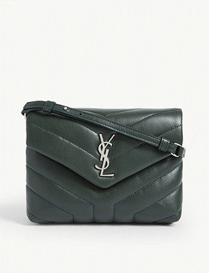 SAINT LAURENT Loulou quilted leather cross-body bag