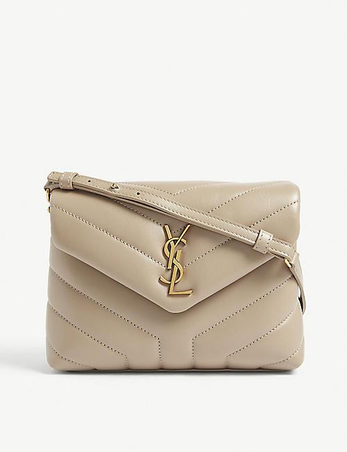 a04c7e2d00 SAINT LAURENT Lou Lou quilted leather shoulder bag