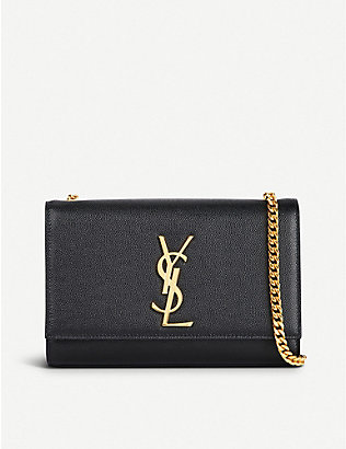 SAINT LAURENT: Kate small monogram leather shoulder bag