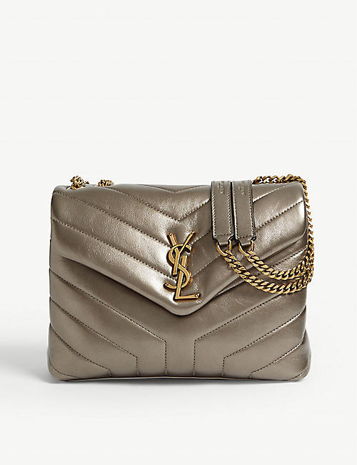 f2f7d93c6fe SAINT LAURENT Monogram LouLou medium leather shoulder bag