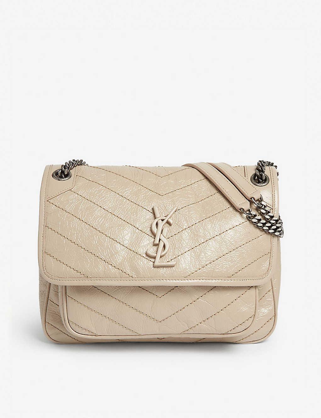 5c2ed0fcf39 SAINT LAURENT - Niki medium leather shoulder bag
