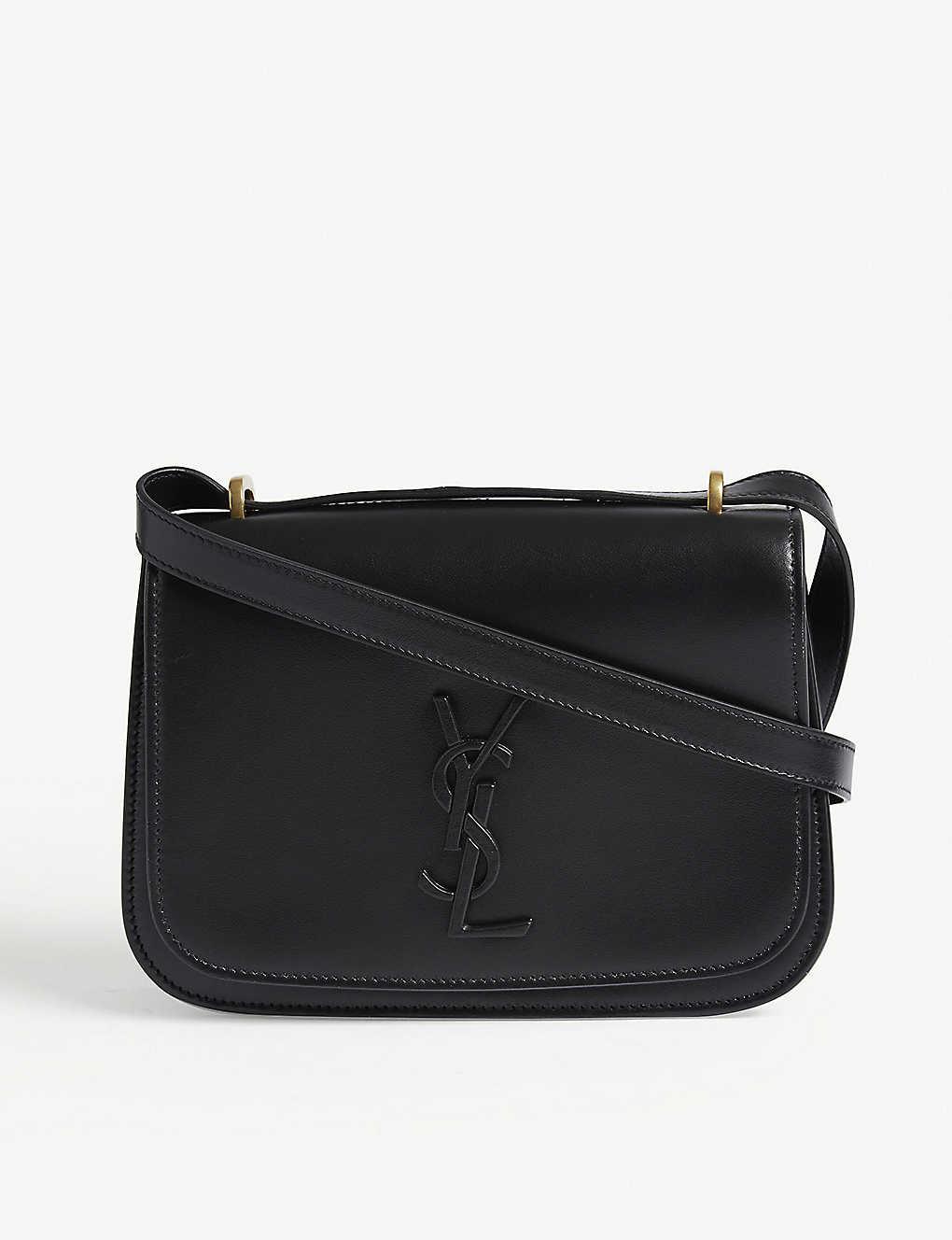 54f20c941d5 SAINT LAURENT - Spontini small leather satchel | Selfridges.com