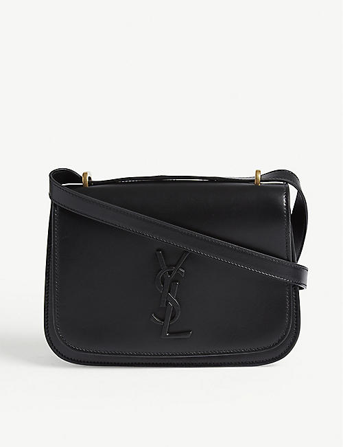 SAINT LAURENT Spontini small leather satchel