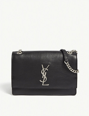 SAINT LAURENT Sunset small leather shoulder bag