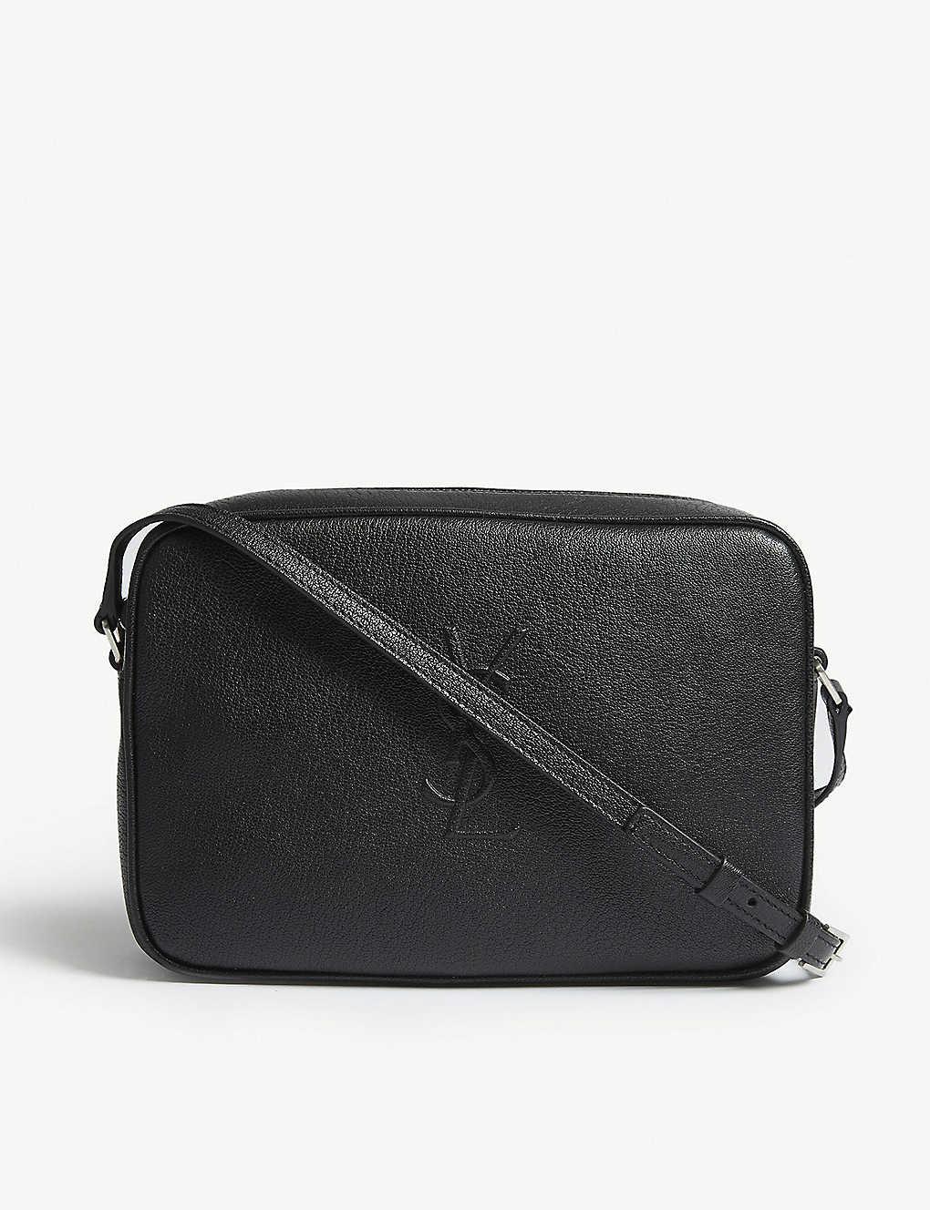 5cb338721db SAINT LAURENT - Mono Lou leather camera bag | Selfridges.com