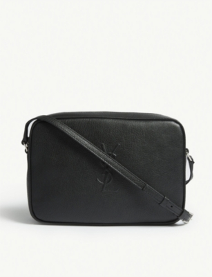 SAINT LAURENT Mono Lou leather camera bag