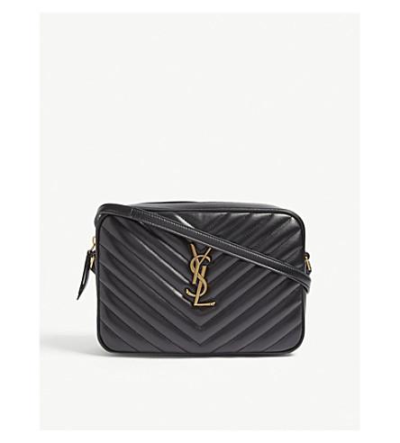 ... SAINT LAURENT Lou leather camera bag (Black. PreviousNext 49fb0239395d9