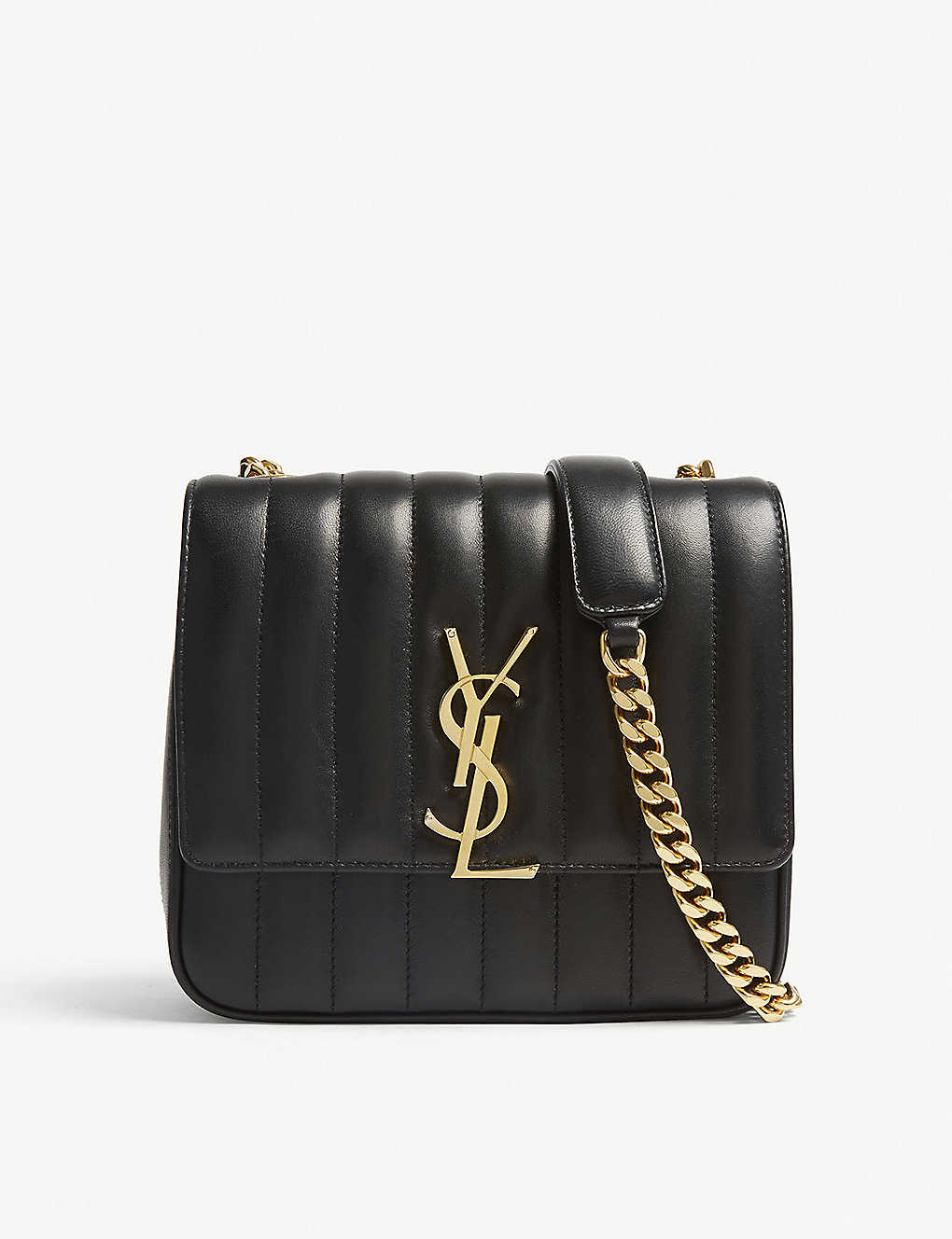 d64ee0c04 SAINT LAURENT - Vicky medium leather shoulder bag | Selfridges.com