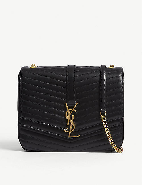 7daab0d9423b SAINT LAURENT Sulpice medium quilted leather cross-body bag