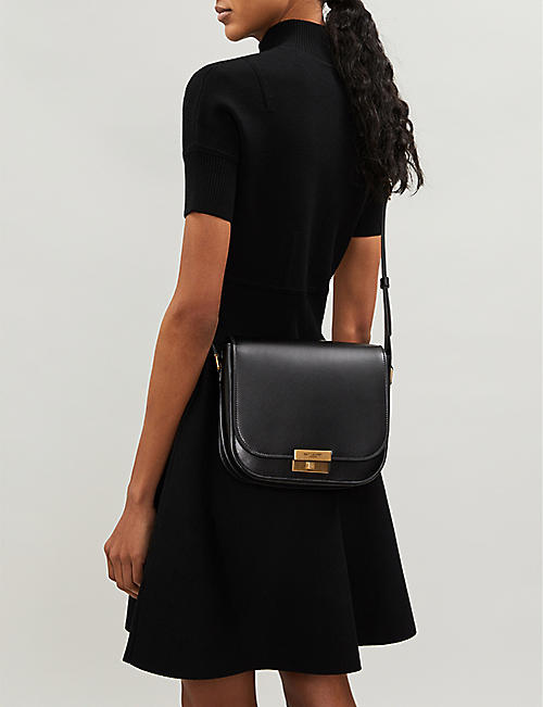 SAINT LAURENT Betty leather satchel