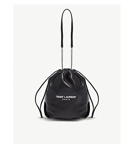 ... leather bucket bag (Black. PreviousNext af08c82d3a0ed