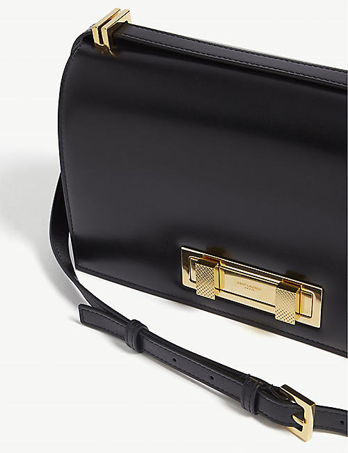SAINT LAURENT Domino medium leather shoulder bag