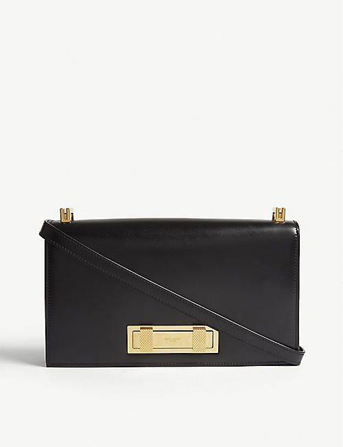 SAINT LAURENT Domino leather shoulder bag