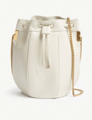 SAINT LAURENT Talitha small leather bucket bag