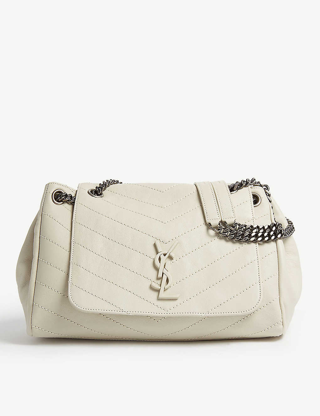 4947f7951fa2fa SAINT LAURENT - Nolita monogram medium leather shoulder bag ...
