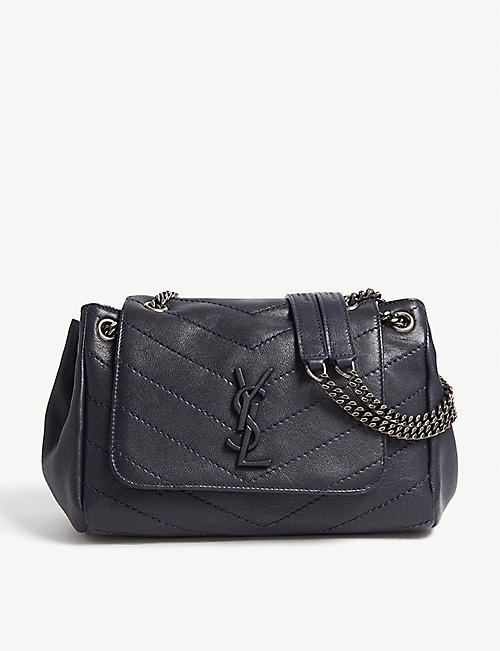 SAINT LAURENT Nolita monogram small leather shoulder bag 6eb0d323d0bf6