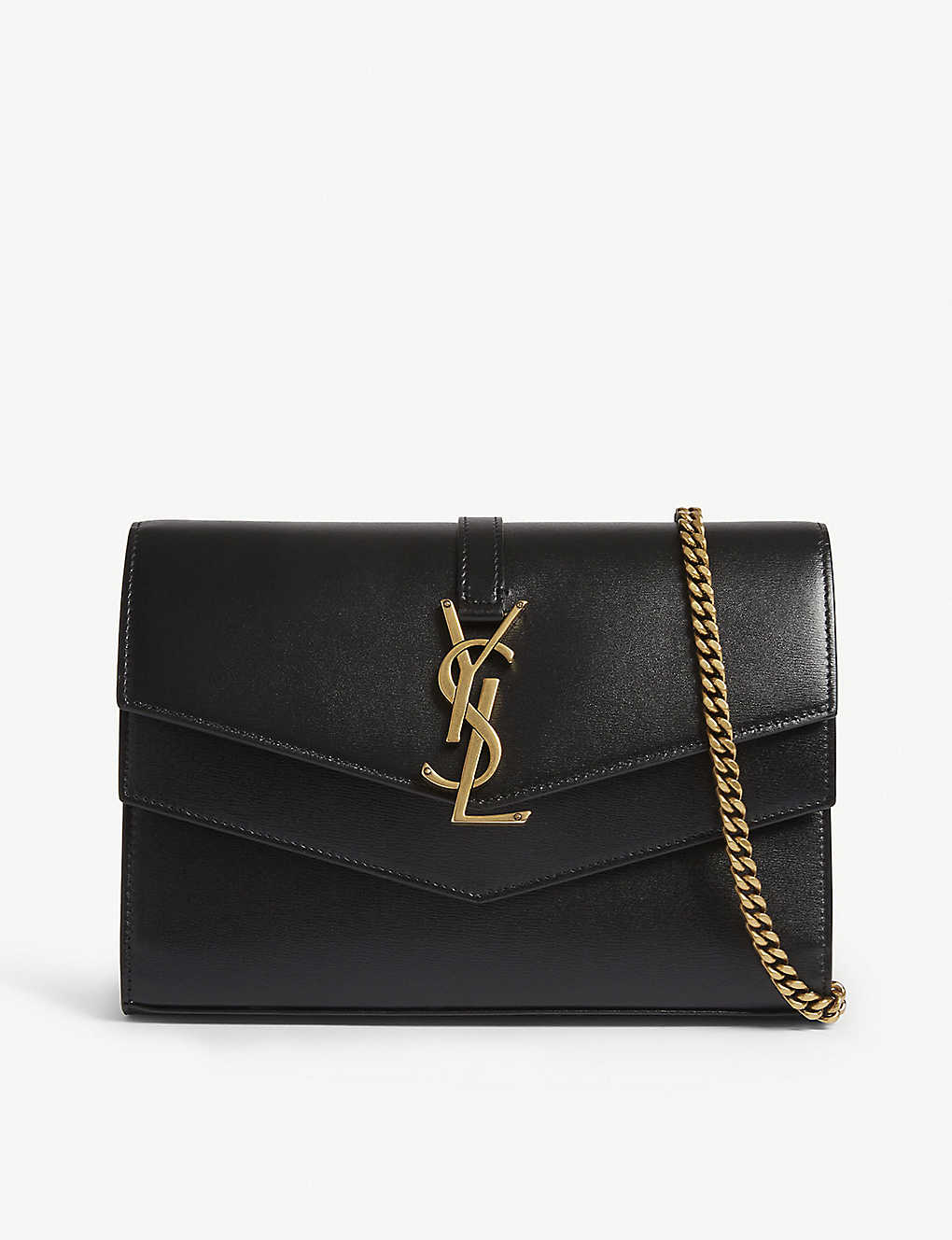 247338b8e8 SAINT LAURENT - Sulpice leather shoulder bag | Selfridges.com