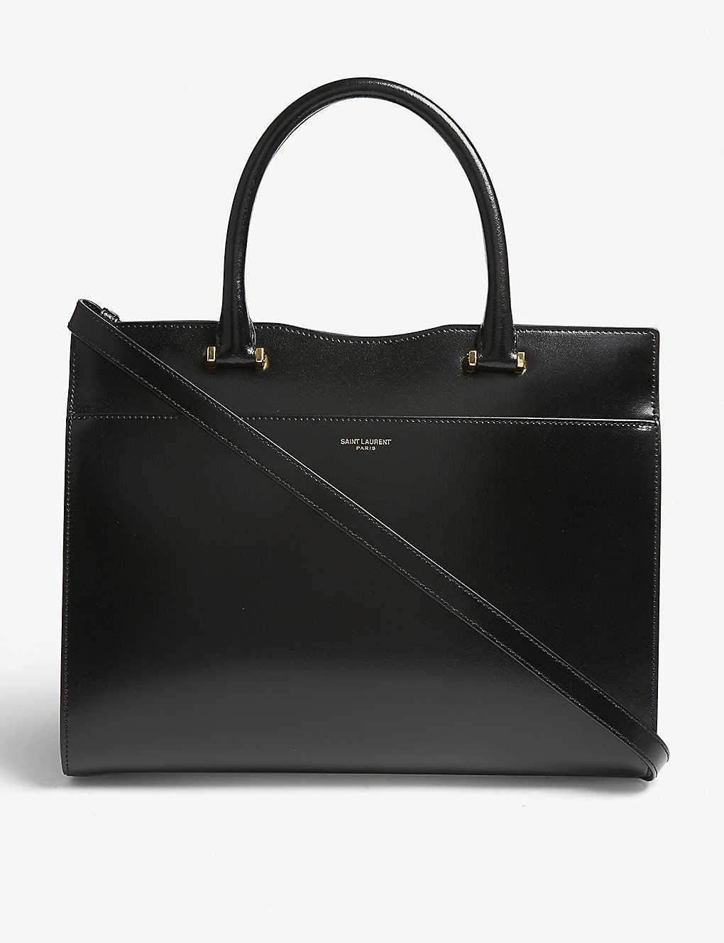 d7cd80fec7c SAINT LAURENT - Uptown tote bag | Selfridges.com