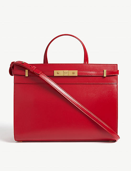 SAINT LAURENT Manhattan leather tote