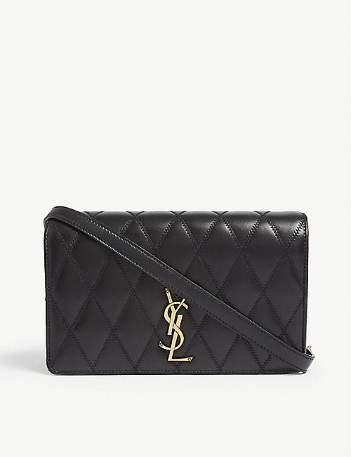 SAINT LAURENT Angie quilted leather shoulder bag