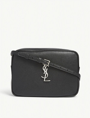 SAINT LAURENT Lou leather camera bag