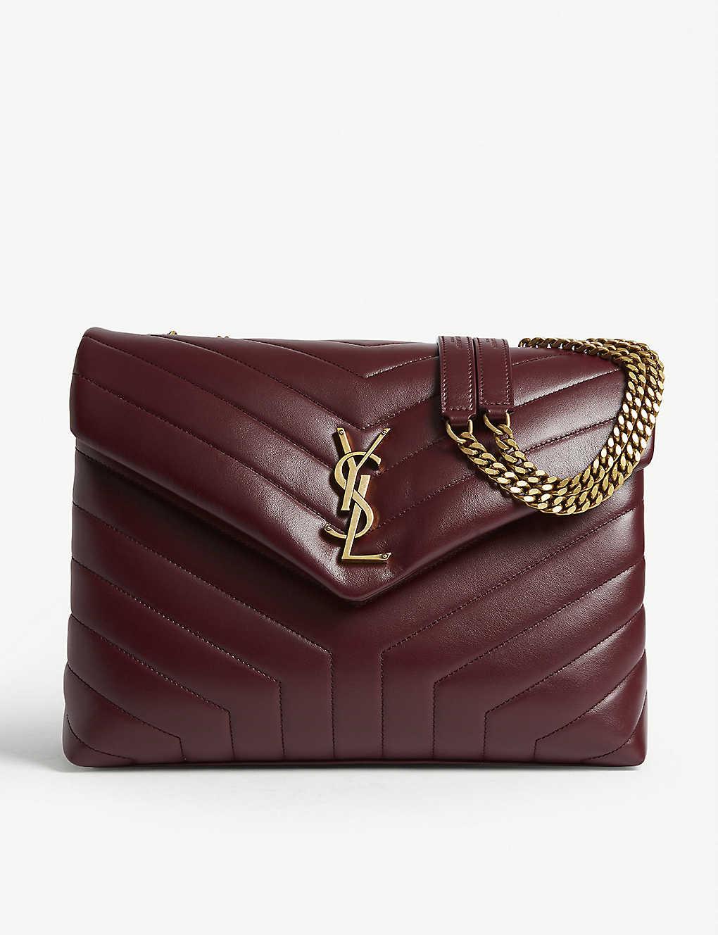5cd8f7544de SAINT LAURENT - Lou Lou quilted leather shoulder bag   Selfridges.com