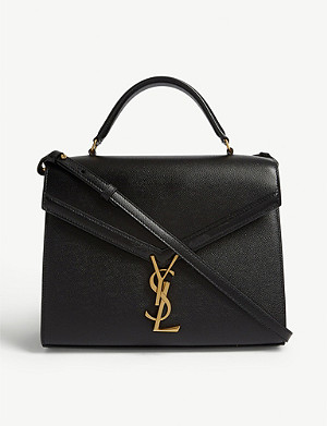 SAINT LAURENT Cassandra monogram leather shoulder bag