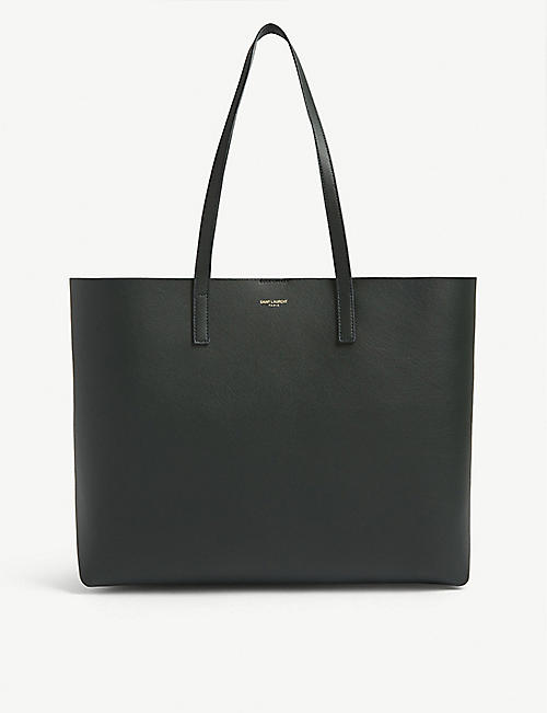 SAINT LAURENT Monogram leather tote