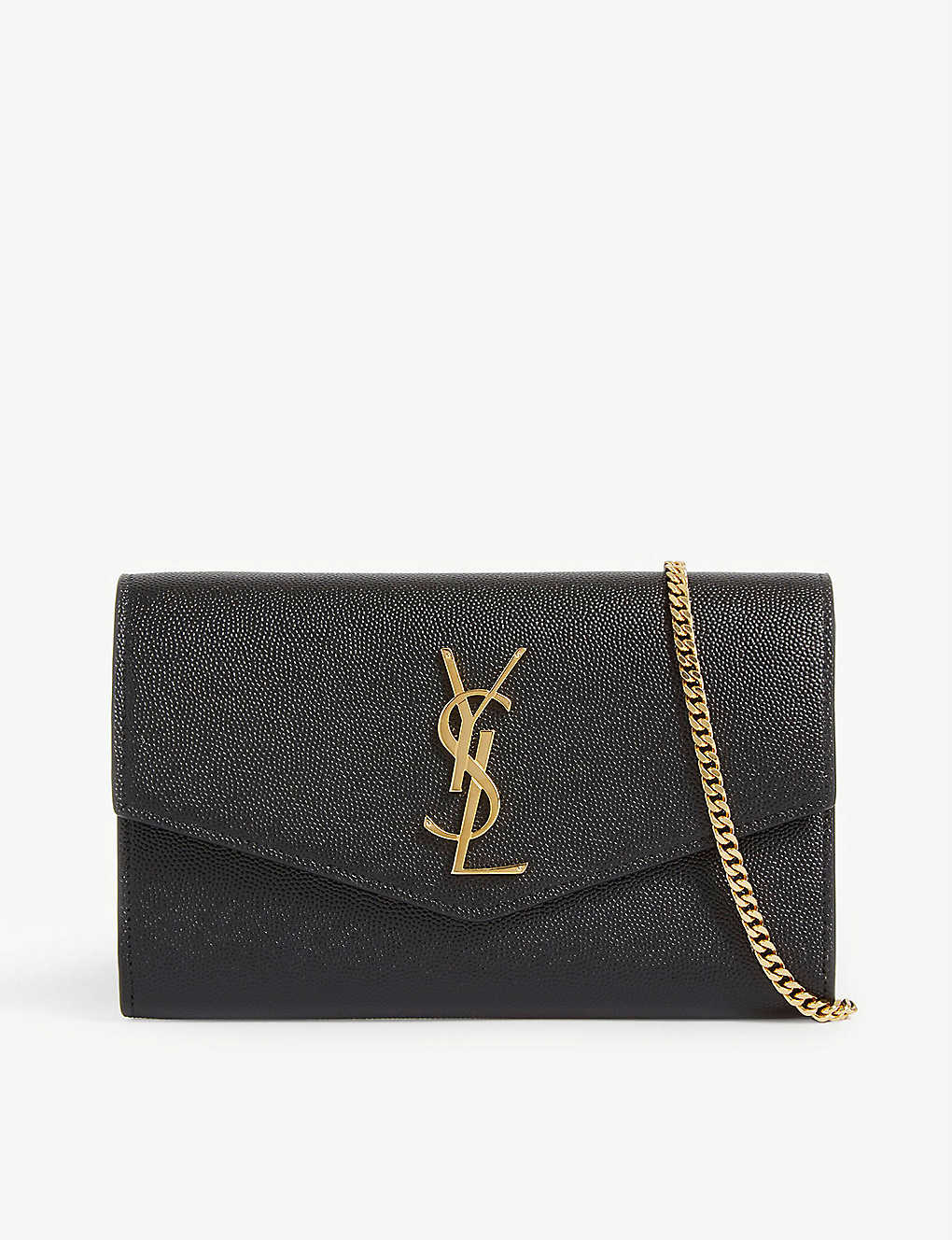 SAINT LAURENT: Uptown leather cross-body bag