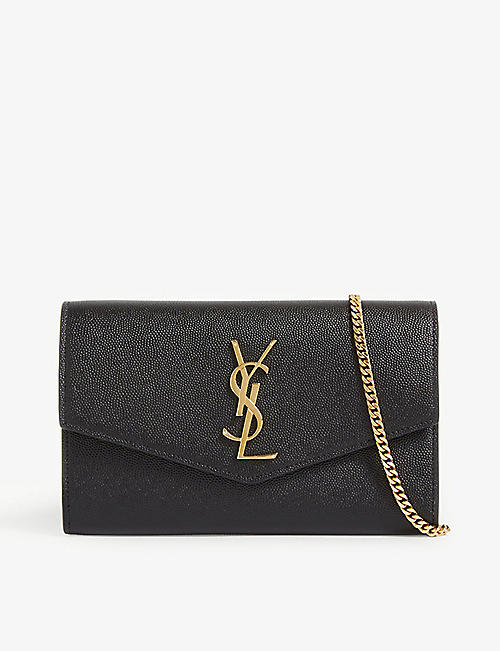 SAINT LAURENT Uptown leather cross-body bag