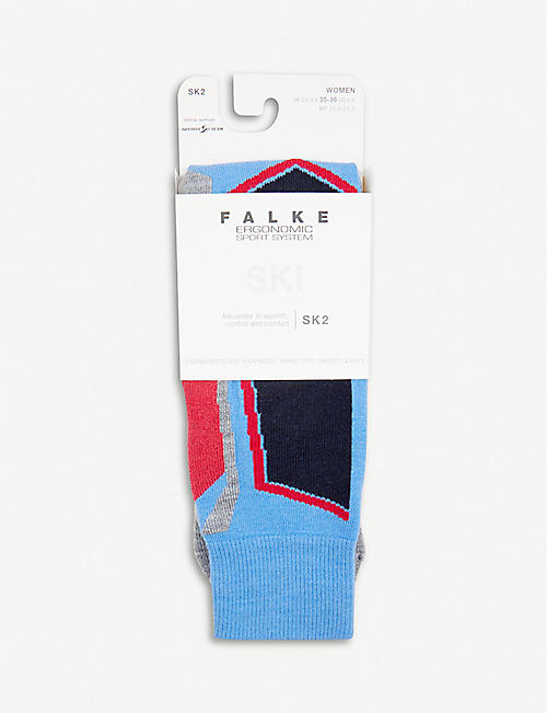 FALKE ERGONOMIC SPORT SYSTEM Ergonomic Sport System thermoregulated ski socks