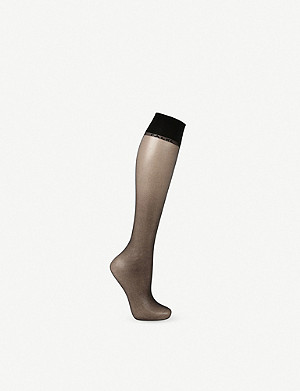 FALKE Shelina 12 denier knee-high pop socks