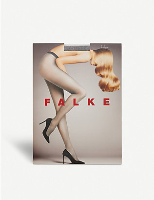 FALKE: Highshine metallic 20 denier tights