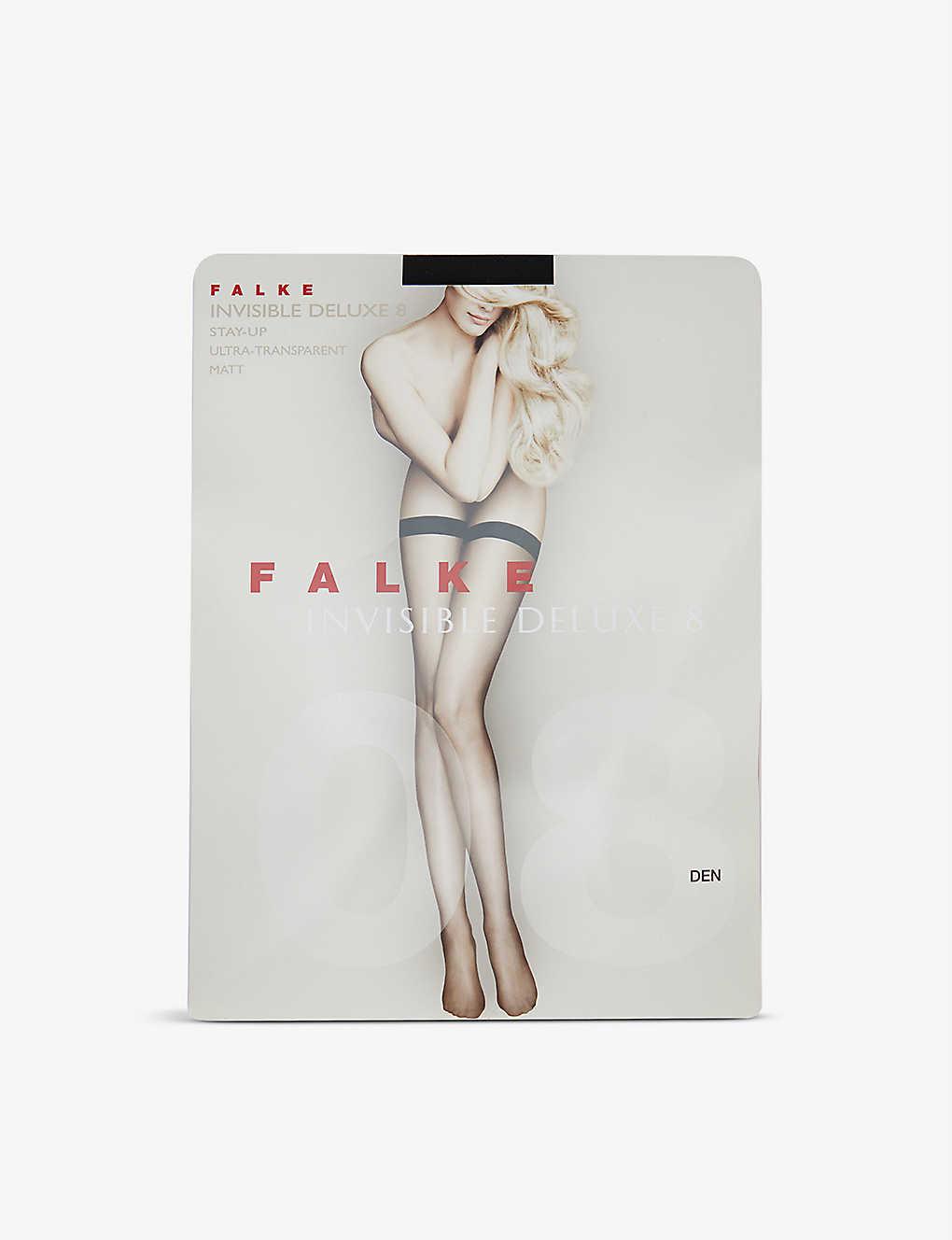 0d45418a2657f FALKE - Invisible Deluxe 8 tights | Selfridges.com