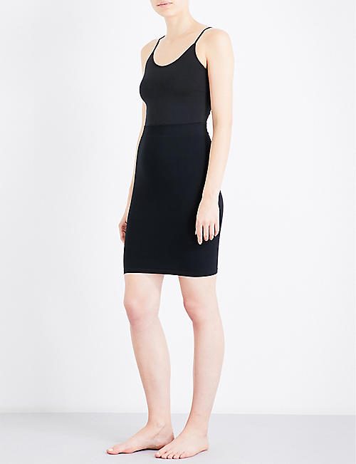 FALKE Tube stretch-jersey skirt